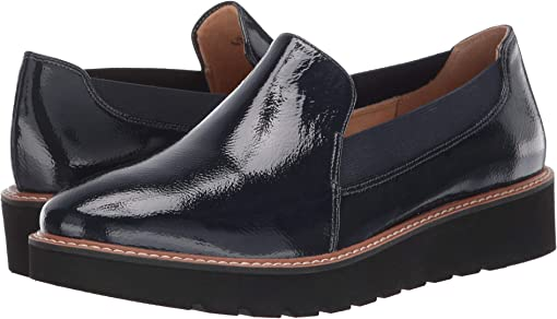 Inky Navy Patent Leather