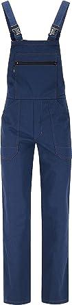 BWOLF Anax Cotton Dungarees Men's Work Trousers Protective Dungarees Work Dungarees Hydron Blue
