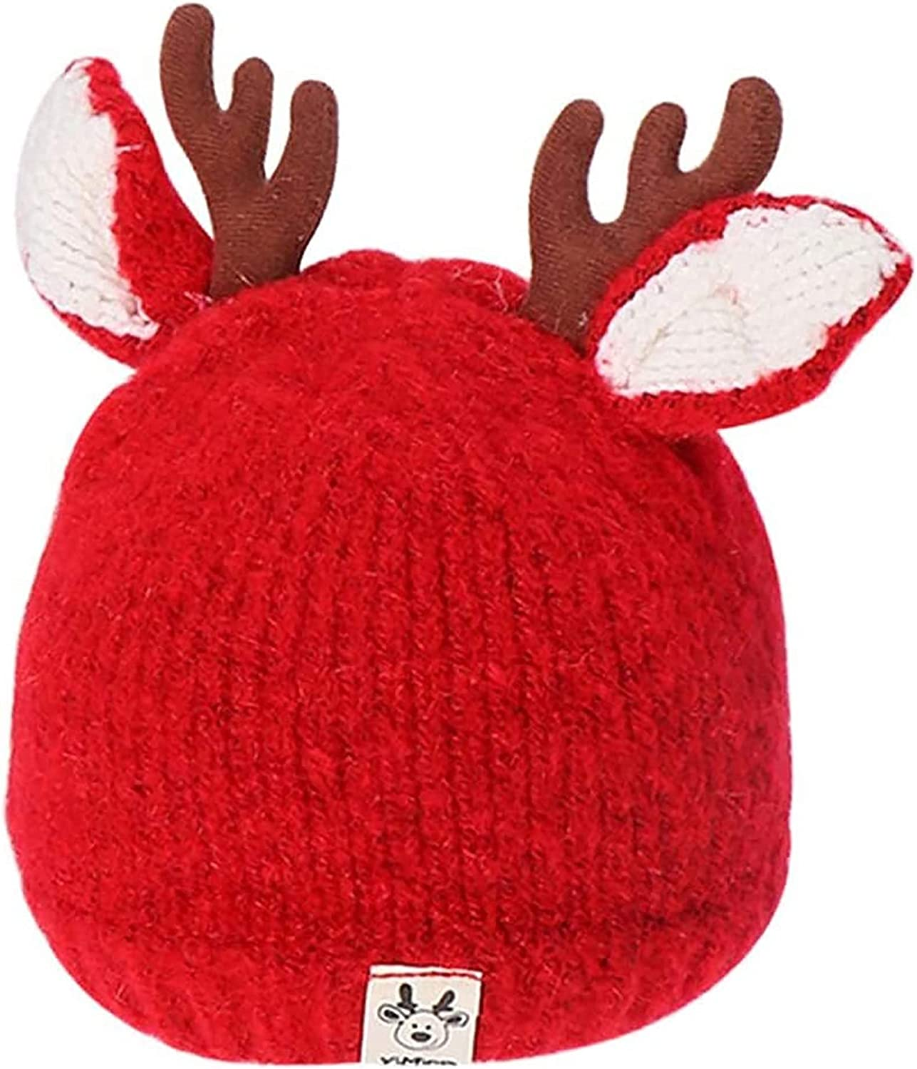 HELOU Christmas Beanie 70% OFF Outlet Hat Knitted Warm 40% OFF Cheap Sale Antlers Reindeer
