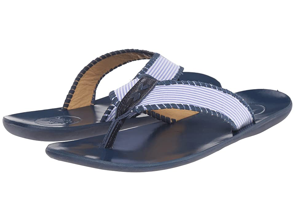 Jack Rogers Sullivan Seersucker (Blue/White) Men