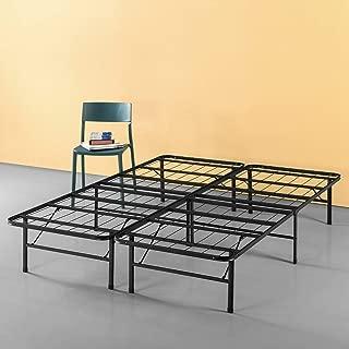 Zinus Callie 14 Inch Classic SmartBase Mattress Foundation / Platform Bed Frame / Box Spring Replacement / Quiet Noise-Free / Under-bed Storage, King (Renewed)