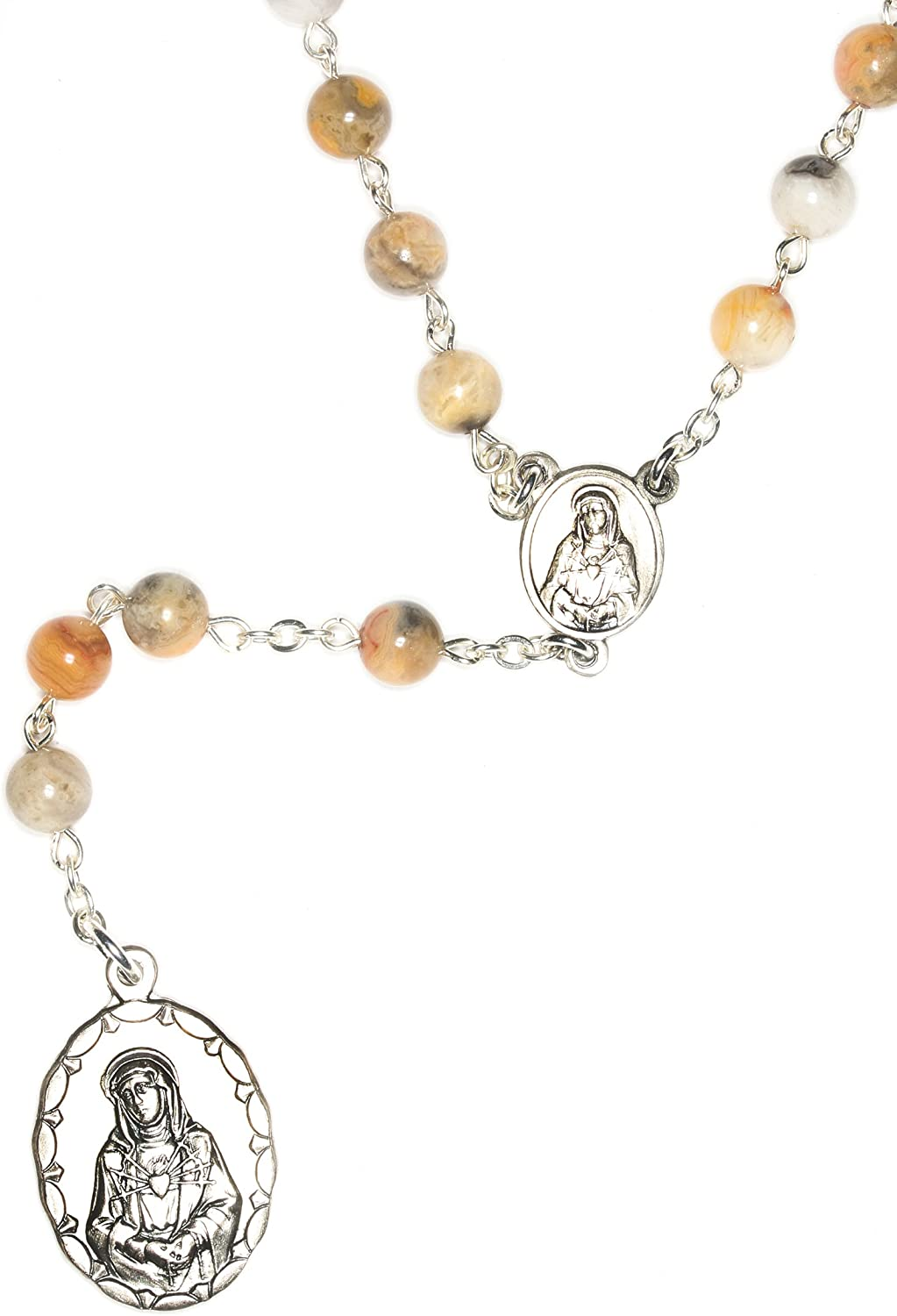 Seven Sorrows of Mary Dolors Dolours Rosary Cheap mail order shopping 2021