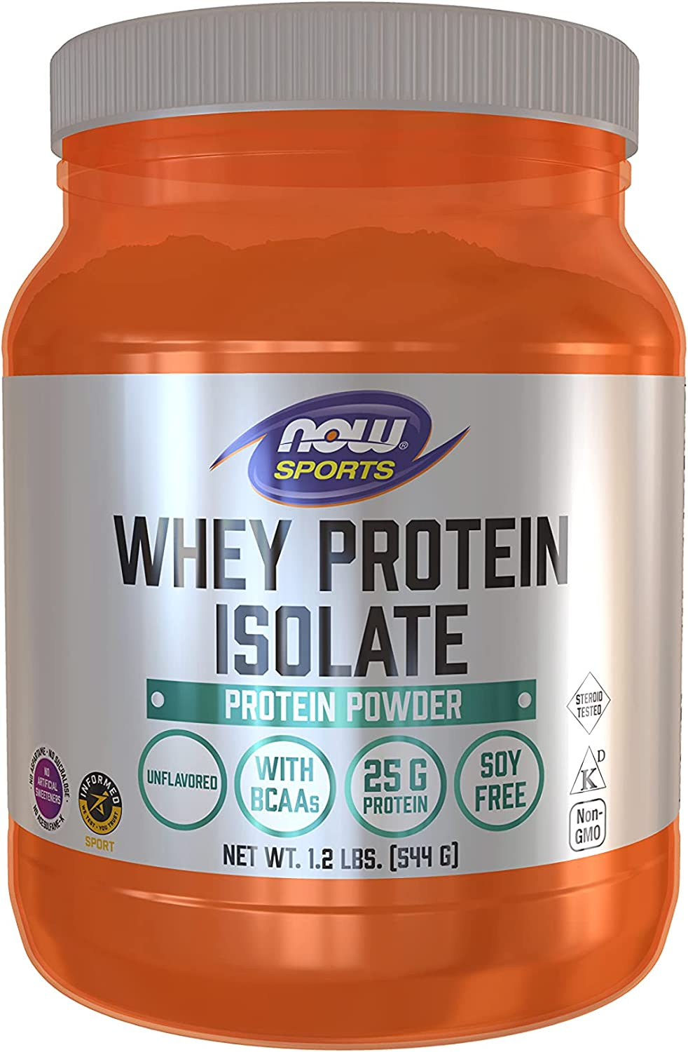 NOW Sports Nutrition Whey Protein Now Ranking TOP11 on sale Isolate BCAAs 25 Unf G With