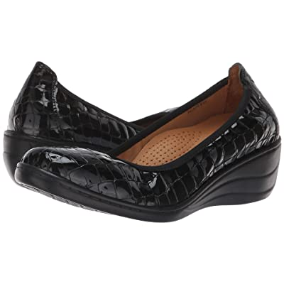 Spring Step Kartii (Black Croc) High Heels