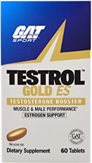 GAT, Testrol Gold ES, Testosterone Booster, 60 Tablets