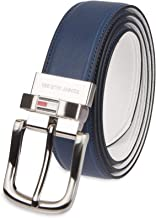 white leather belt strap