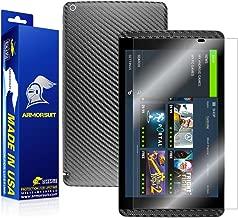 ArmorSuit NVIDIA Shield Tablet Screen Protector MilitaryShield + Black Carbon Fiber Skin Wrap Back Film Protector for NVIDIA Shield Tablet