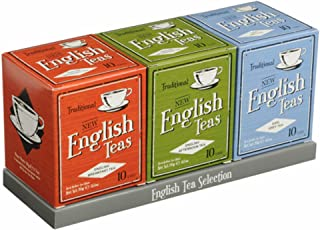 Vintage English Tea Selection - 3 x 10 Teabag Cartons, Vintage Tea Gift Pack