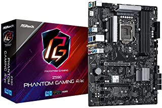 ASRock Intel 第10・11世代CPU(LGA1200)対応 Z590 チップセット搭載 ATX マザーボード 【国内正規代理店品】 Z590 Phantom Gaming 4/ac+