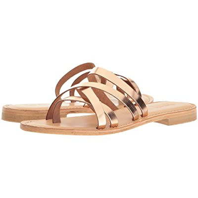 Summit by White Mountain Edlyn (Rose Gold Metallic Leather) Women