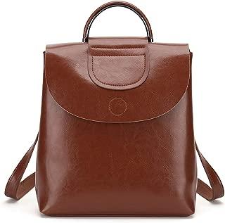 AVIARY HK Genuine Leather Shoulder Bag Waterproof Handbags Ladies Backpack Purse Rucksack Casual Daypack for women