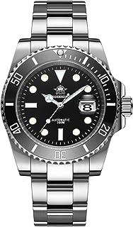 ADDIESDIVE Orologio Diver Automatico Uomo, Diver's 200M Subacquei Orologi, Luminescente, Movimento NH35A, Cinturino Acciai...
