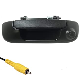 Master Tailgaters Replacement for Dodge Ram 2002-2008 Black Tailgate Handle with Backup Camera