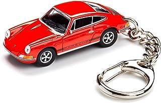 corpus delicti :: Schlüsselanhänger mit Porsche 911 S blutorange Modellauto für alle Auto  und Oldtimerfans (20.9 41)