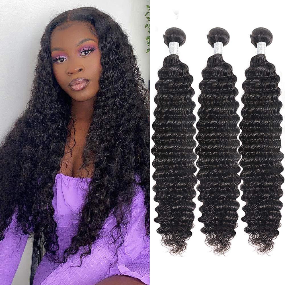 FASHOW Deep Wave Bundles Brazilian Spring new work one after quality assurance another Hai Virgin Hair Human