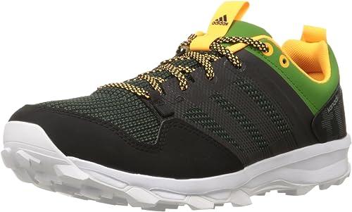 Adidas Outdoor Kanadia 7 Trail Running Turnschuhe schuhe - Umber schwarz Blau - Mens - 8