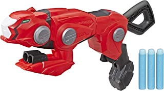 Hasbro Power Rangers Beast Morphers Cheetah Beast Blaster from Power Rangers TV Show – Power Rangers Red Ranger Roleplay Toy, Includes 3 Nerf Darts