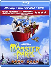A Monster in Paris 3d
