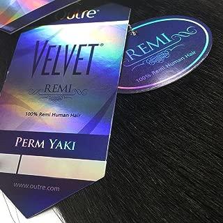 Velvet Remi Human Hair Weave - PERM YAKI WEAVING (14