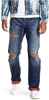 b33486435 True Religion Men s Straight Flap Stretch Jeans-Burning Rocks