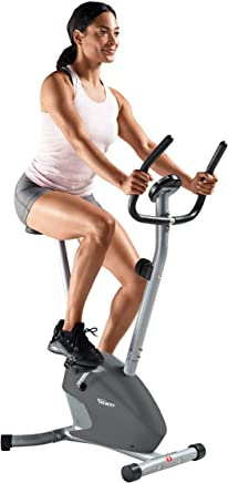 featured product Velocity Exercise Gray Magnetic Upright Exercise Bike