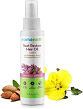Mamaearth Root Restore Hair Oil 100ml with Bhringraj, Jojoba, Almond, Olive, Rosemary Oil and Vit. (F)