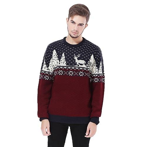 Vintage Christmas Sweaters.Vintage Christmas Sweater Amazon Com