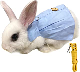 Alfie Pet - Indie Harness and Leash Set for Small Animals Like Guinea Pigs and Rabbits - Color: Blue, Size: Small