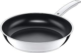 WMF Durado - Sartén para inducción (28 cm, acero inoxidable Cromargan, revestimiento de cerámica, apta para horno)