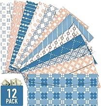 Cash Envelopes, 12 Pack Money Envelopes for Cash, Reusable Budget Envelopes for Budgeting Cute Dave Cash Envelope System Wallet