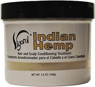 Vigorol Indian Hemp Hair & Scalp Conditioning Treatment 3.6 oz. Jar
