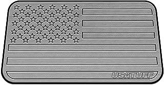 USATuff Cooler Pad for Yeti - Fits Tundra 65qt - SeaDek Marine Grade EVA Mat - Gray/Black - USA Flag