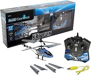 Revell - Helicóptero Sky Fun RTF/3CH con radiocontrol, 2.4