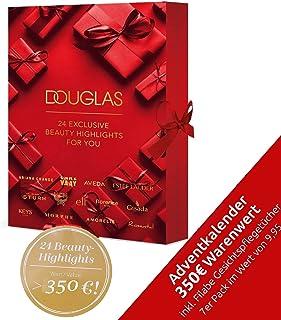DOUGLAS Adventskalender 2021 Beauty -EXKLUSIV EDITION- Frauen + Mädchen Kosmetik Advent Kalender , 24 Kosmetik Geschenke W...