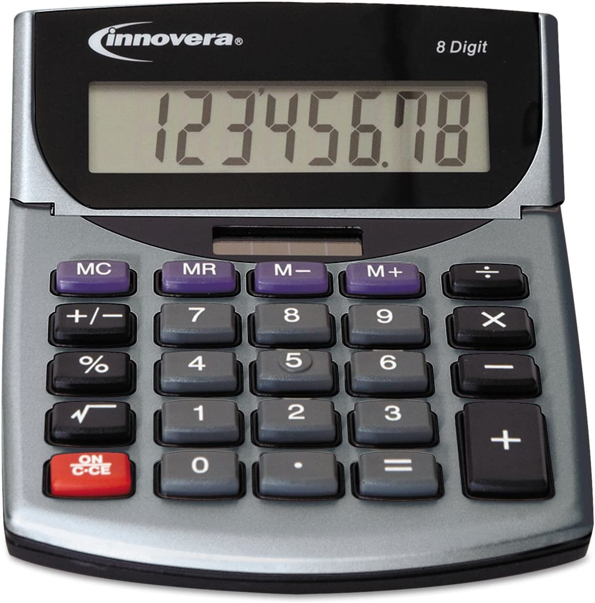 INNOVERA 15927 Portable Minidesk Online limited product Calculator LCD 8-Digit New mail order
