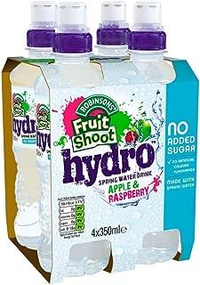 Robinsons Fruit Shoot Hydro Spring Water Drink Apple & Raspberry - No Added Sugar (4x350ml)