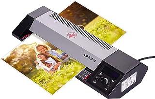 laminatore a Riscaldamento rapido di 3 Minuti con Pulsante Caldo Freddo e ABS laminatori Lisci per Ufficio//Scuola//casa laminatore A3 HJRD Plastificatrice Due impostazioni di Calore