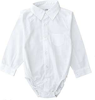 Couture Infant/Toddler Dress Shirt Bodysuit