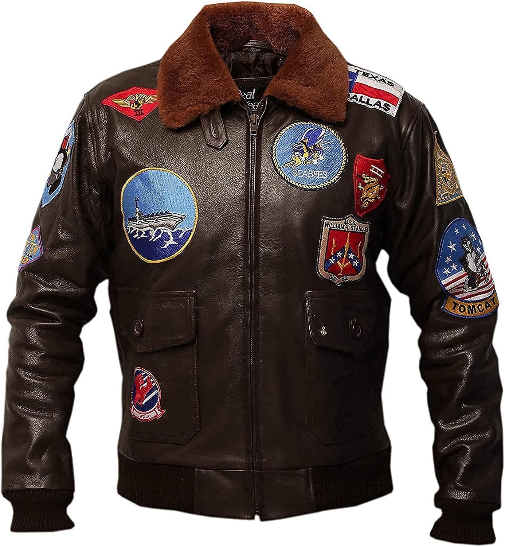 Top Gun Jacket for Men Tom Cruise Top Gun Flight Jacket WW2 Bomber Jackets