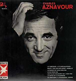 (VINYL LP) Aznavour 65