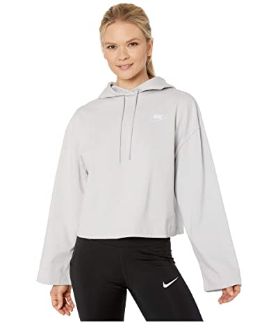 Nike NSW Hoodie Jersey (Grey Fog/Grey Fog) Women