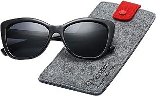 6525d1c60077c Polarspex Polarized Women s Vintage Square Jackie O Cat Eye Fashion  Sunglasses