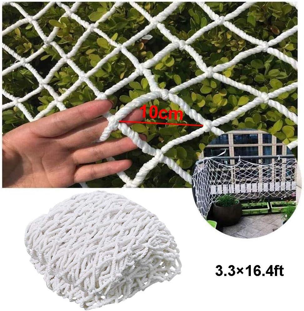 DFGHJKNN Filet De S/écurit/é en Nylon Antichute,Filet De S/écurit/é pour Enfants,Lit De Mezzanine for Animaux De Compagnie for Enfants,Balcon De Protection,10cm,1/×5m 3.3/×16.4ft