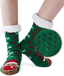 calcetines de Antideslizante calcetines térmicos mujer Calcetines Antideslizante