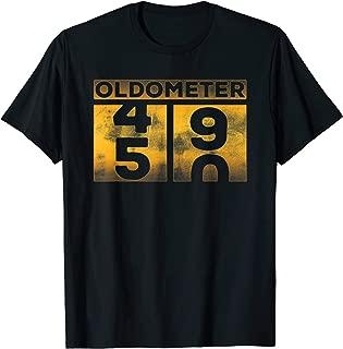 Funny oldometer 49-50 birthday turning 50 half century T-Shirt