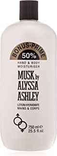 ALYSSA ASHLEY Musk Hand & Body Moisturiser, 750 ml