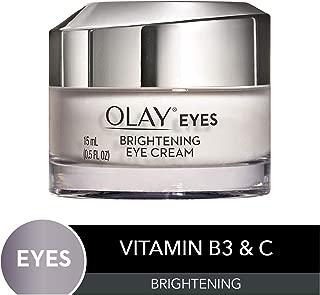 Olay Brightening Eye Cream with Vitamin C & B3 to Help Reduce Dark Circles, 0.5 fl oz