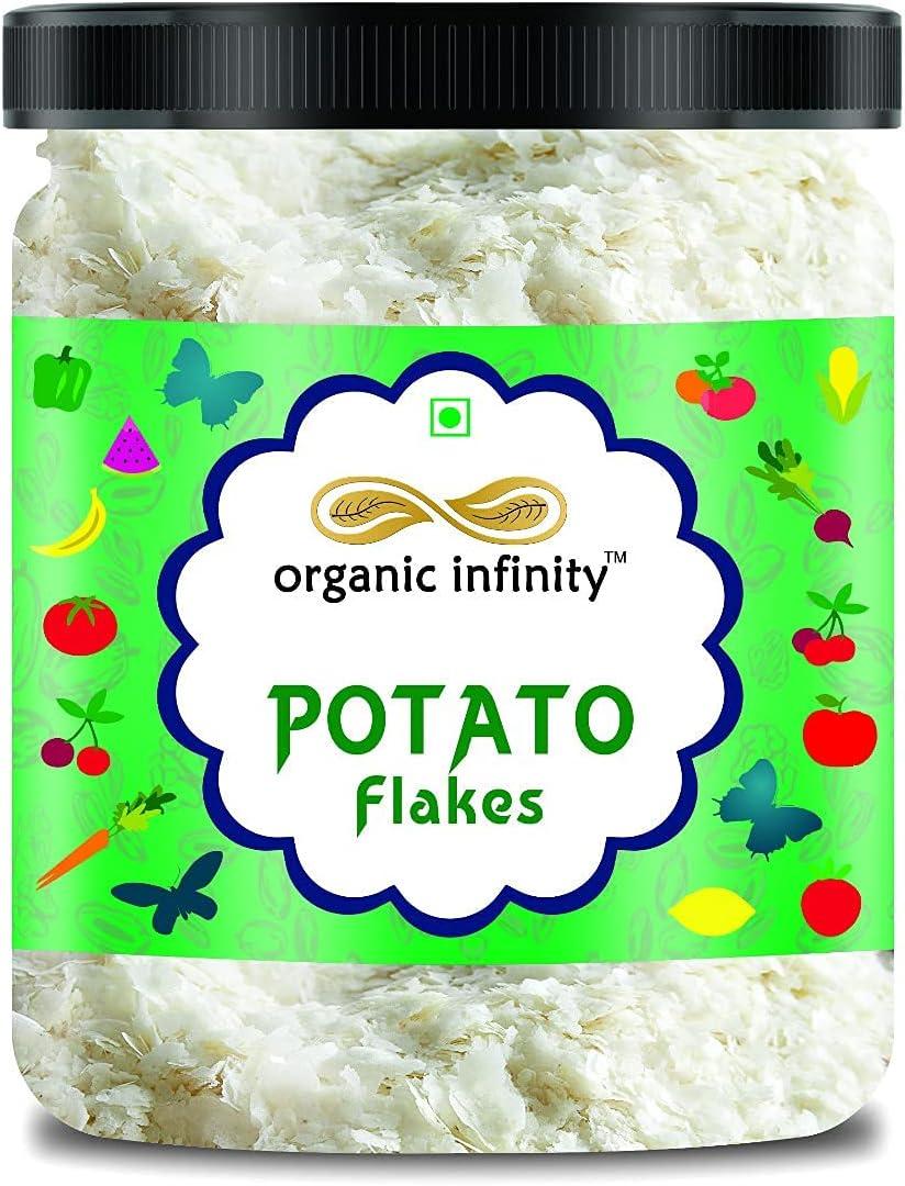 Zenza Organic Infinity Potato Flakes   Dehydrated Potato   Aaloo