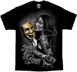 Tears Of A Clown Tattoo Lowrider Homies David Gonzales DGA Art Men's T Shirt