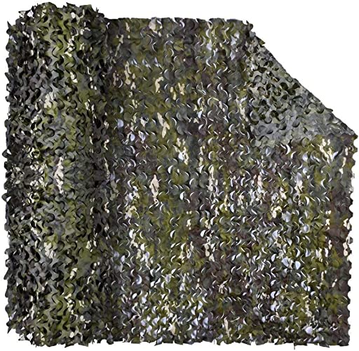 GQYYL Visière en Tissu, Filet De Camouflage en Tissu Oxford, Filet De Prougeection Contre Le Soleil pour La Décoration Extérieure (Taille   10x10m)